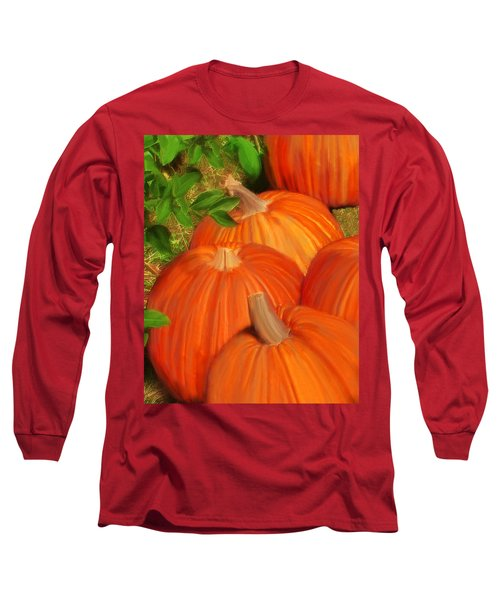Pumpkins Pumpkins Everywhere Long Sleeve T-Shirt