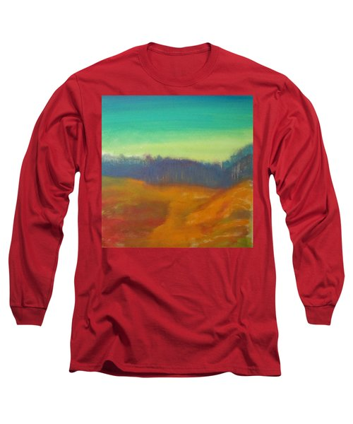 Long Sleeve T-Shirt featuring the painting Quiet by Keith Thue