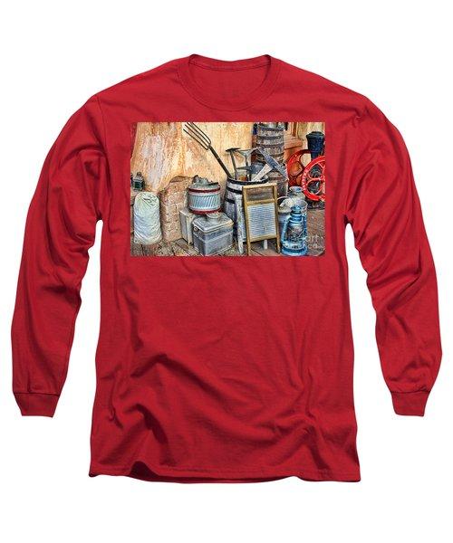 Quitting Time By Diana Sainz Long Sleeve T-Shirt