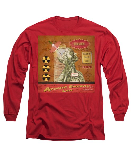 Radiation Need Not Be Feared Long Sleeve T-Shirt by Desiree Paquette