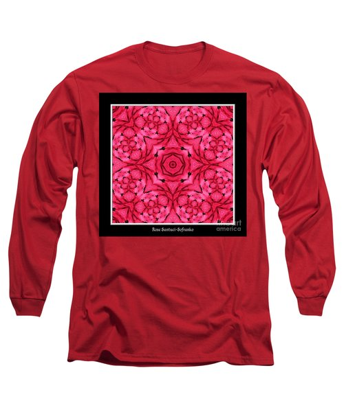 Long Sleeve T-Shirt featuring the photograph Ranunculus Flower Warp by Rose Santuci-Sofranko