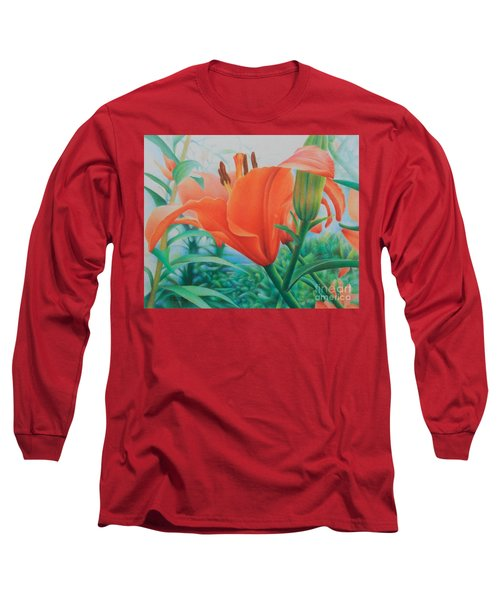 Reach For The Skies Long Sleeve T-Shirt by Pamela Clements