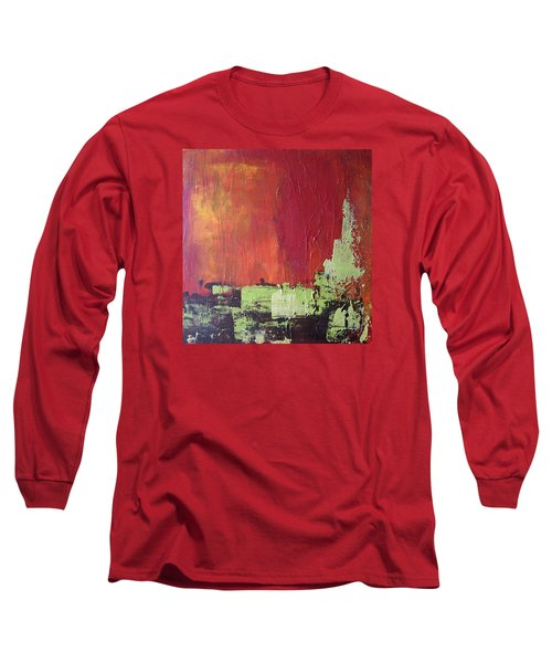 Reaching Up, Abstract  Long Sleeve T-Shirt