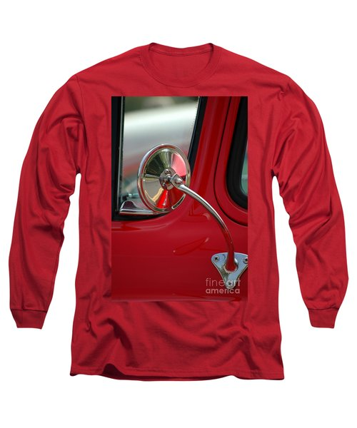 Long Sleeve T-Shirt featuring the photograph Rear View by Christiane Hellner-OBrien