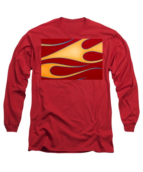 Long Sleeve T-Shirt featuring the photograph Red And Gold by Joe Kozlowski