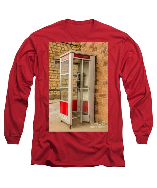 Long Sleeve T-Shirt featuring the photograph Before Cell Phones by Sue Smith