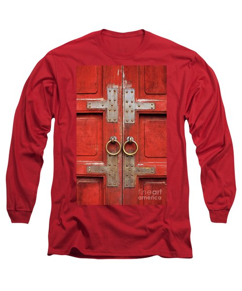 Red Doors 01 Long Sleeve T-Shirt