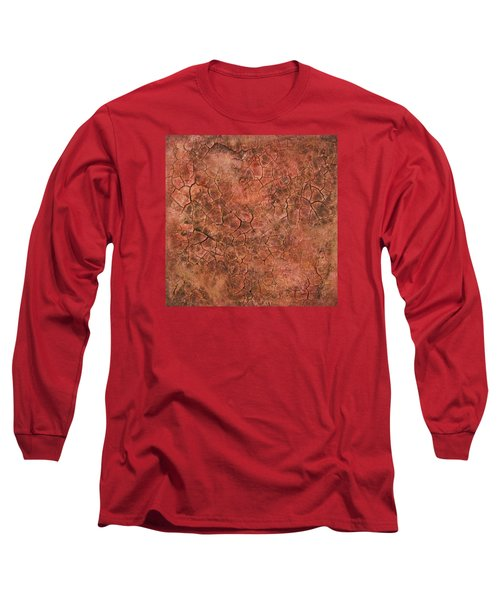 Red Eye Long Sleeve T-Shirt by Alan Casadei