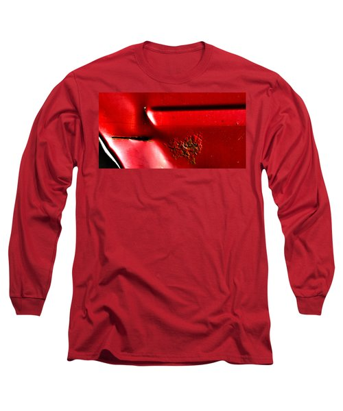 Red Gash Long Sleeve T-Shirt