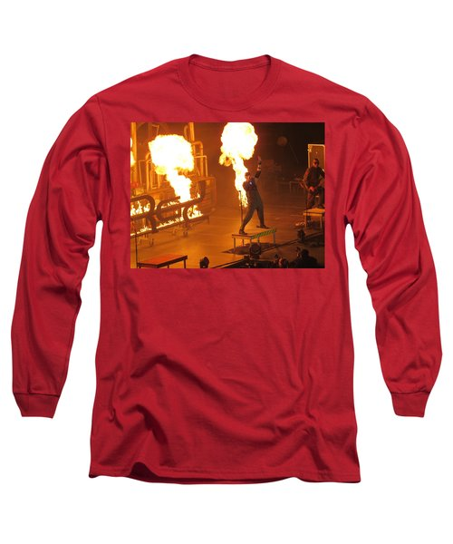 Red Heats Up Winterjam In Atlanta Long Sleeve T-Shirt