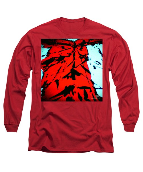 Red Owl Watching Over Me Long Sleeve T-Shirt