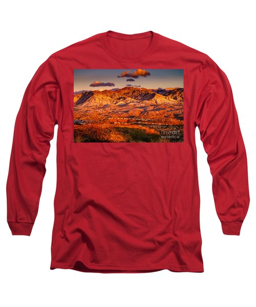 Long Sleeve T-Shirt featuring the photograph Red Planet by Mark Myhaver