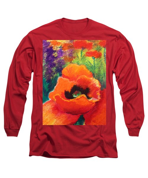 Red Poppies  Long Sleeve T-Shirt