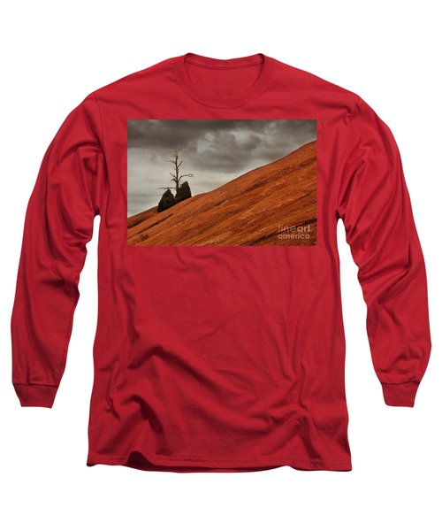 Long Sleeve T-Shirt featuring the photograph Red Rock by Dana DiPasquale