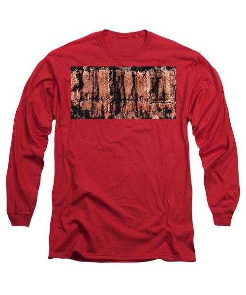 Red Rock Wall Long Sleeve T-Shirt