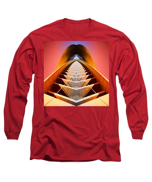 Red Shift Long Sleeve T-Shirt