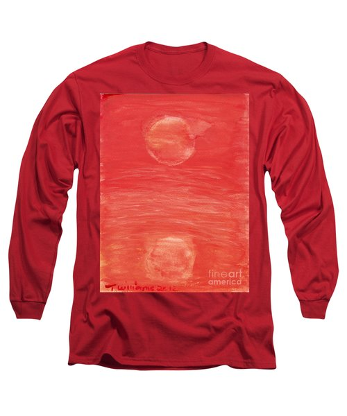 Reflections Of Pain Long Sleeve T-Shirt