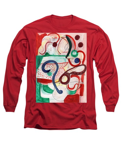 Reflective #6 Long Sleeve T-Shirt