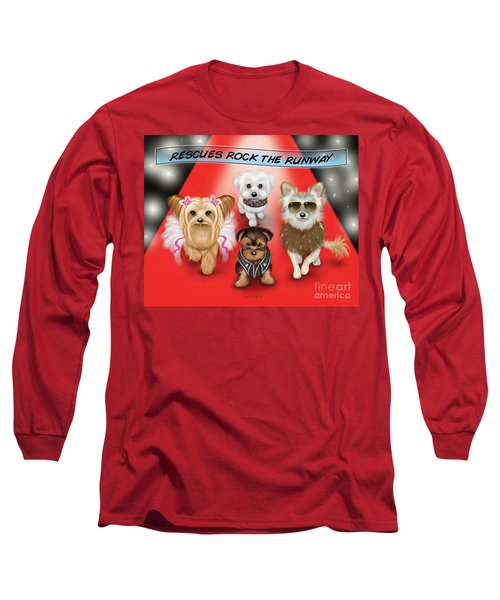 Rescues Rock The Runway Long Sleeve T-Shirt