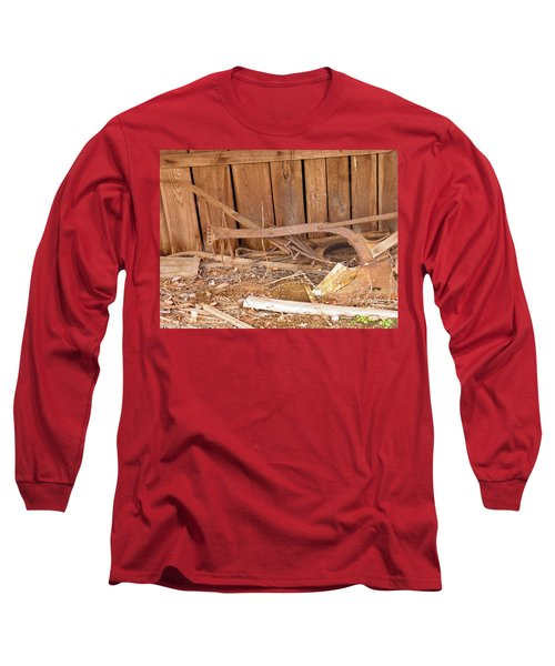 Long Sleeve T-Shirt featuring the photograph Retired Tools by Nick Kirby