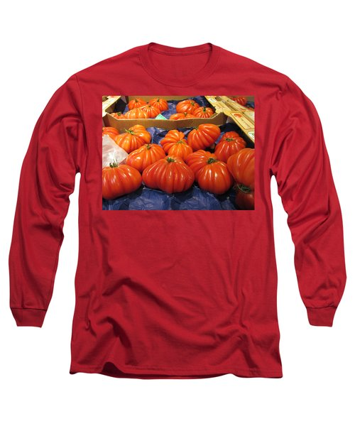 Ribbed Tomatoes Long Sleeve T-Shirt