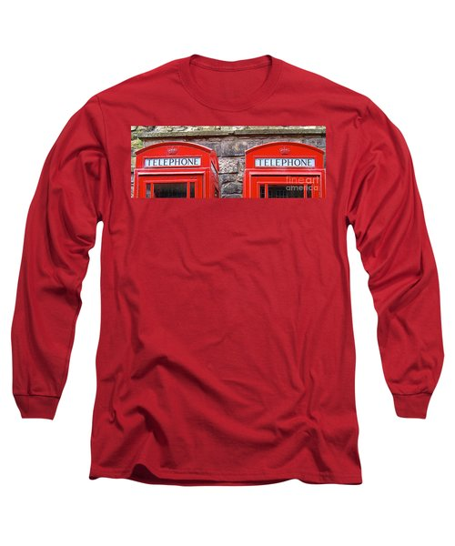 Ring Ring Long Sleeve T-Shirt by Suzanne Oesterling