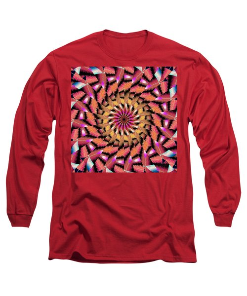 Rippled Source Kaleidoscope Long Sleeve T-Shirt