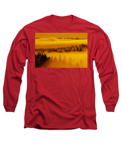 River Fog Rising Long Sleeve T-Shirt