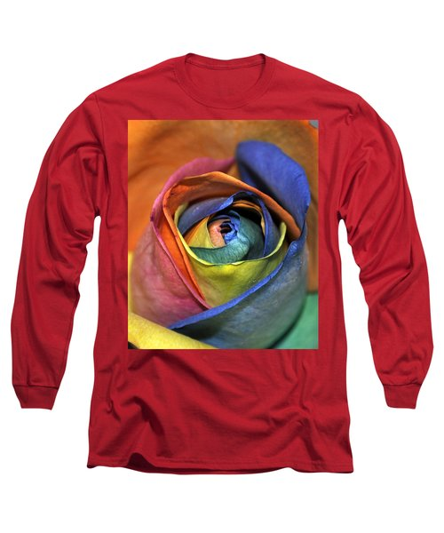 Rose Of Equality Long Sleeve T-Shirt by Jim Brage