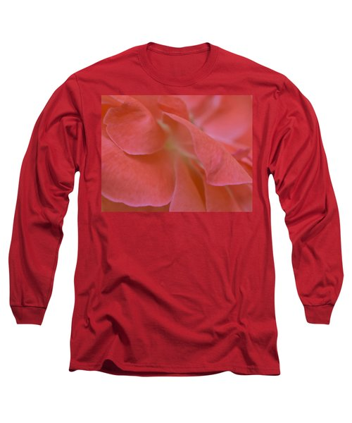 Long Sleeve T-Shirt featuring the photograph Rose Petals by Stephen Anderson