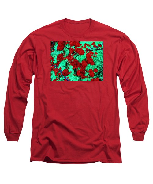 The Red Roses Long Sleeve T-Shirt