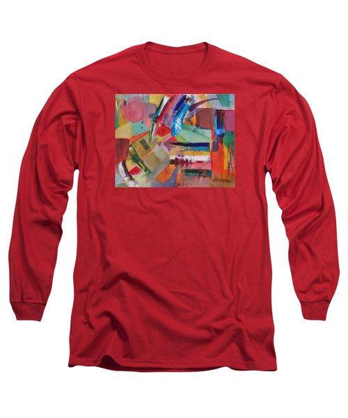 Rugged Strokes Long Sleeve T-Shirt by Jason Williamson
