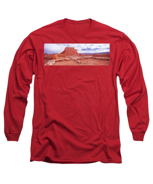 Ruins Of The Mission, Pecos National Long Sleeve T-Shirt