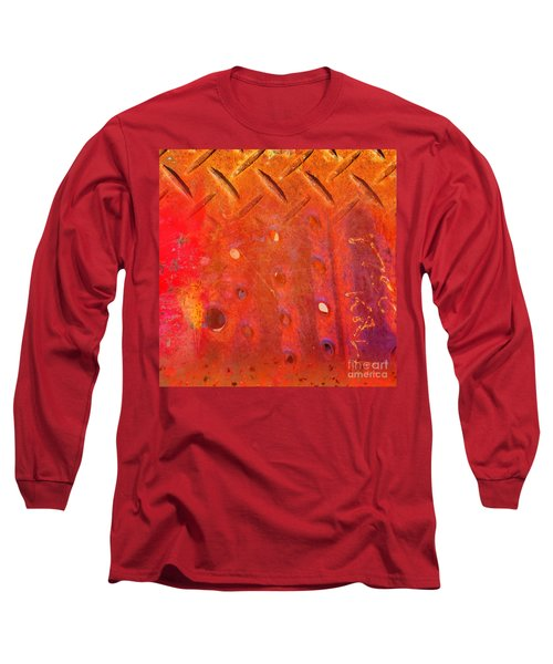 Rusted Glory 10 Long Sleeve T-Shirt by Desiree Paquette