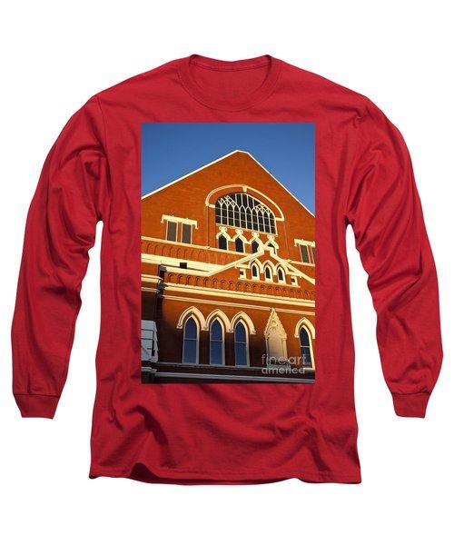 Ryman Auditorium Long Sleeve T-Shirt