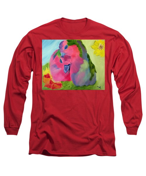 Safe And Sound Long Sleeve T-Shirt by Meryl Goudey