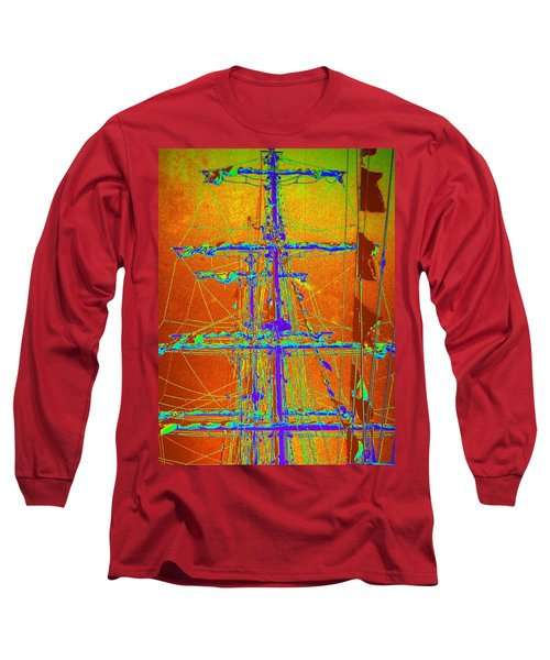 New Orleans Saint Elmo Fire Long Sleeve T-Shirt
