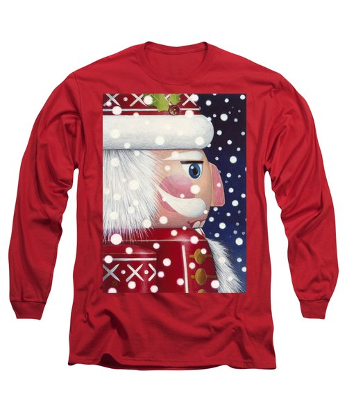Santa Nutcracker Long Sleeve T-Shirt