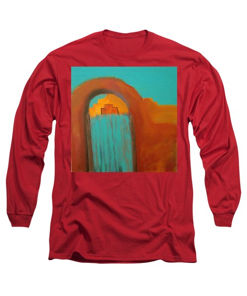 Long Sleeve T-Shirt featuring the painting Sante Fe by Keith Thue