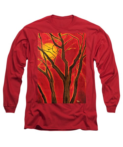 Scorpio Sun By Jaime Haney Long Sleeve T-Shirt