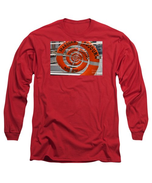 Seabourn Sojourn Spiral. Long Sleeve T-Shirt
