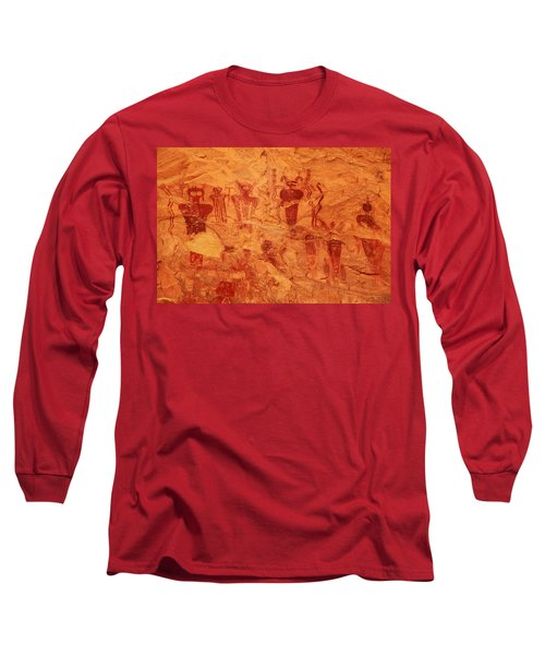 Sego Canyon Rock Art Long Sleeve T-Shirt