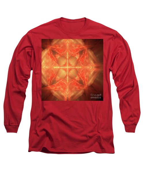 Shield Of Faith Long Sleeve T-Shirt by Margie Chapman