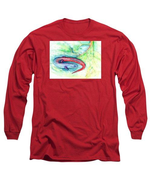Simon Long Sleeve T-Shirt by Ashley Kujan