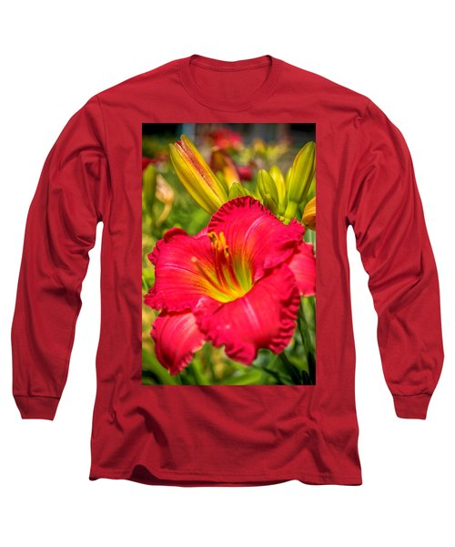 Simple Lily Long Sleeve T-Shirt