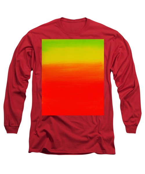 Simply Rasta Long Sleeve T-Shirt by Jean Cormier