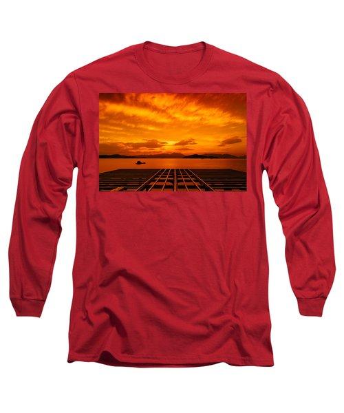 Skies Ablaze - One Long Sleeve T-Shirt