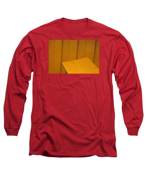 Long Sleeve T-Shirt featuring the photograph Skc 1496 A Tea Shack Bench by Sunil Kapadia