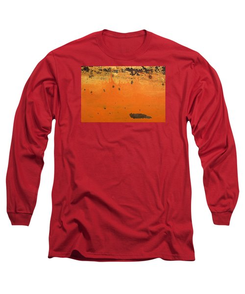 Long Sleeve T-Shirt featuring the photograph Skc 1505 Peeled Paint by Sunil Kapadia