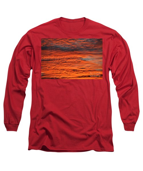 Sky Fire  Long Sleeve T-Shirt